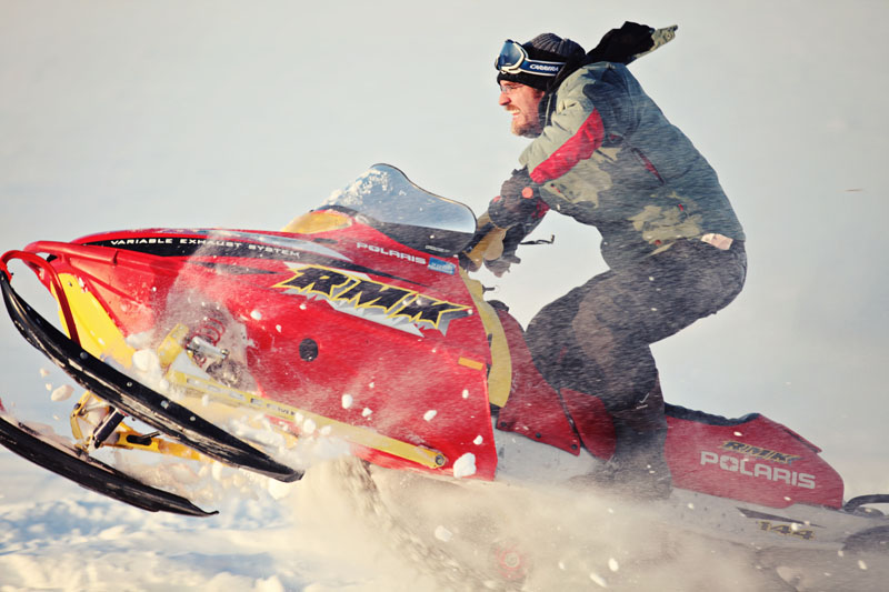 Snowmobile Colorado and Utah Sports Photographer